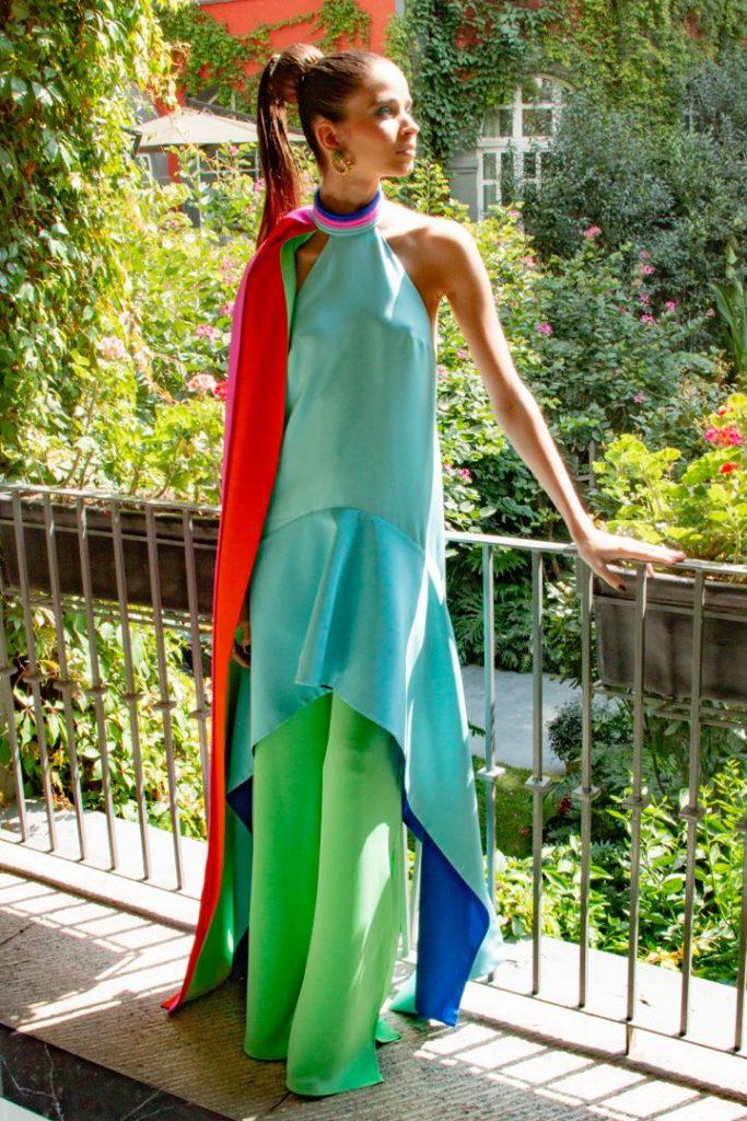 El diseño de Kris Goyry de México inspirado en la MET Gala 2021.