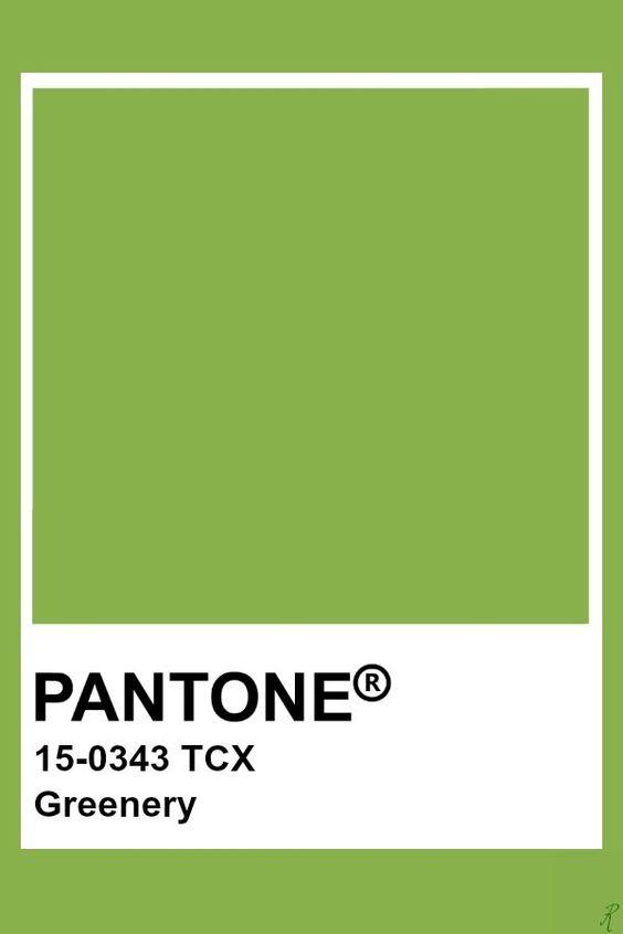 El color verde listo para imponerse en la primavera 2021.