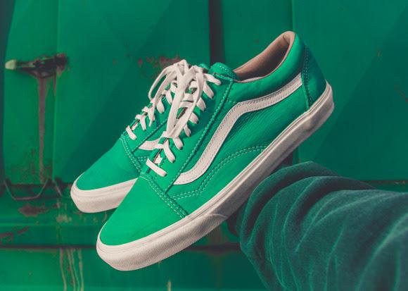 Zapatillas de diseño vintage y de color verde: dos ítems de la temporada de primavera 2021