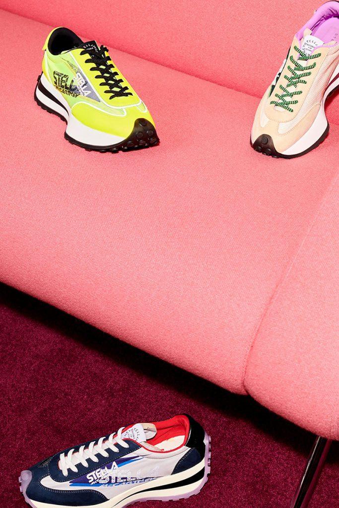 Veganas y en colores. Así son los sneakers de Stella McCartney Reclypse.