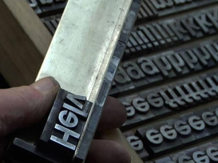 La elección de tipografías, una obsesión de diseñadores.