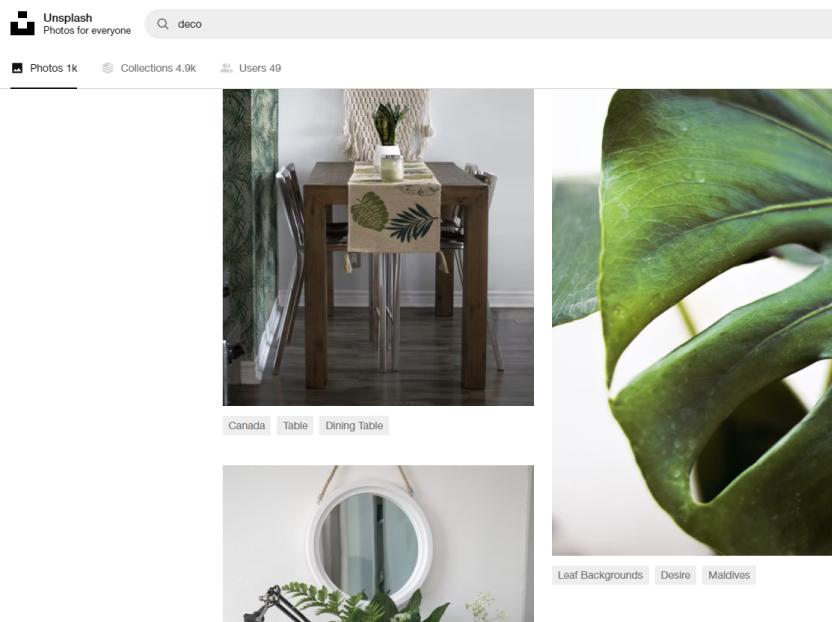 Unsplash es el sitio para encontrar imágenes según temáticas.