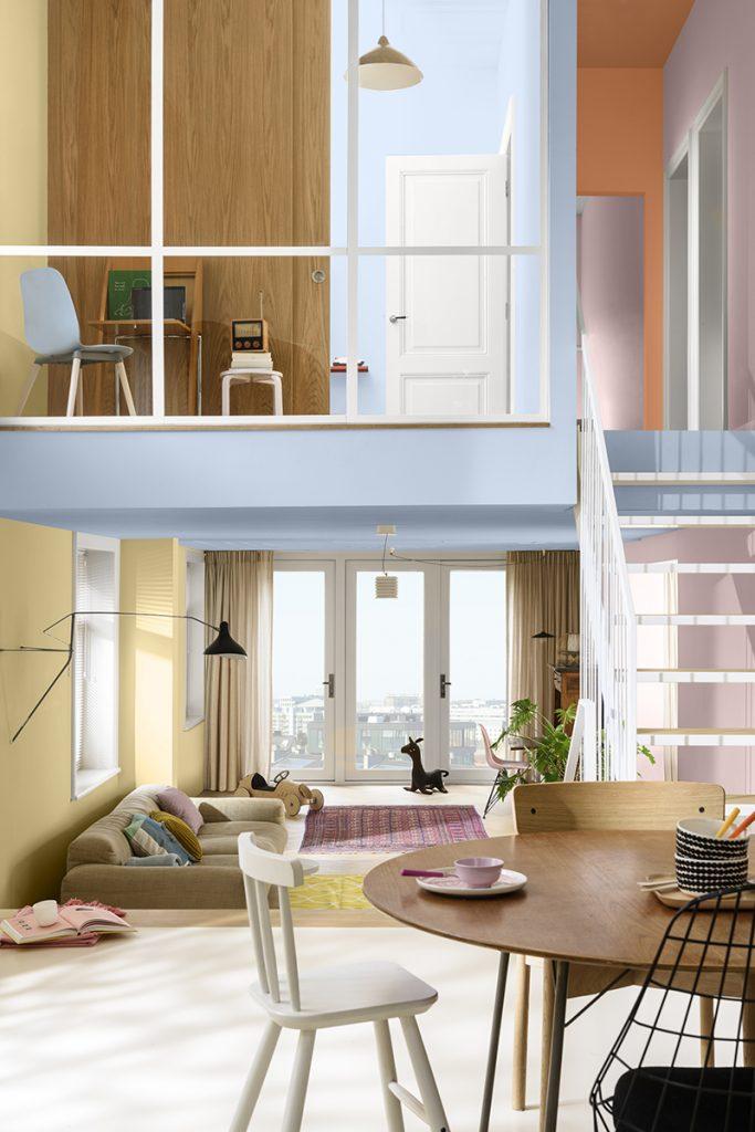 El hogar se reinvent´ó, y los colores acompañan la transformaci´ón.