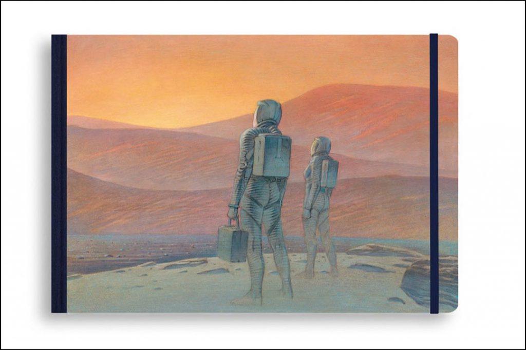 TRAVEL BOOKS MARS de Louis Vuitton estará disponible a partir del 1º de noviembre.