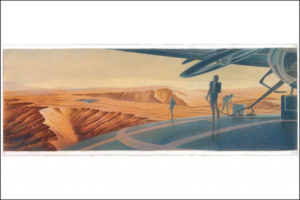 El Travel Book a Marte de Louis Vuitton describe un viaje imaginado por el escritor francés Sylvain Tesson.