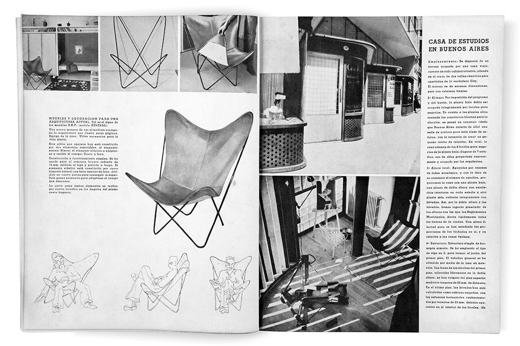 El sillón BKF, objeto de estudio del diseño argentino de todos los tiempos.