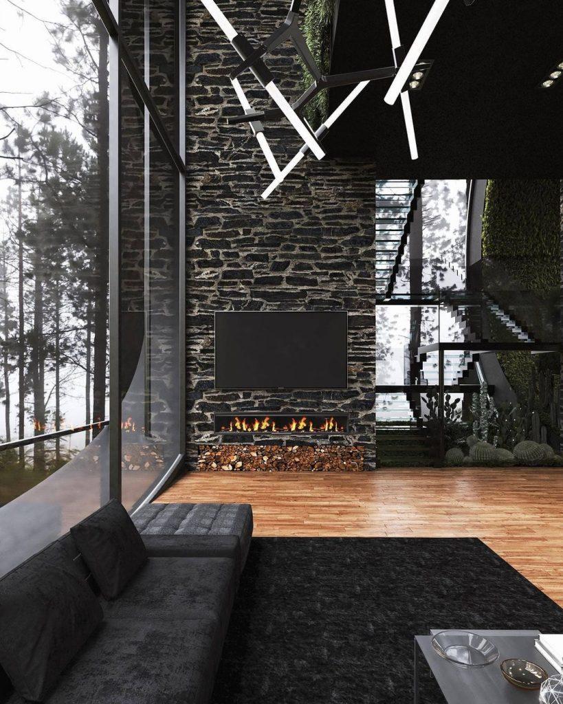 The Twins House es moderna y sostenible.