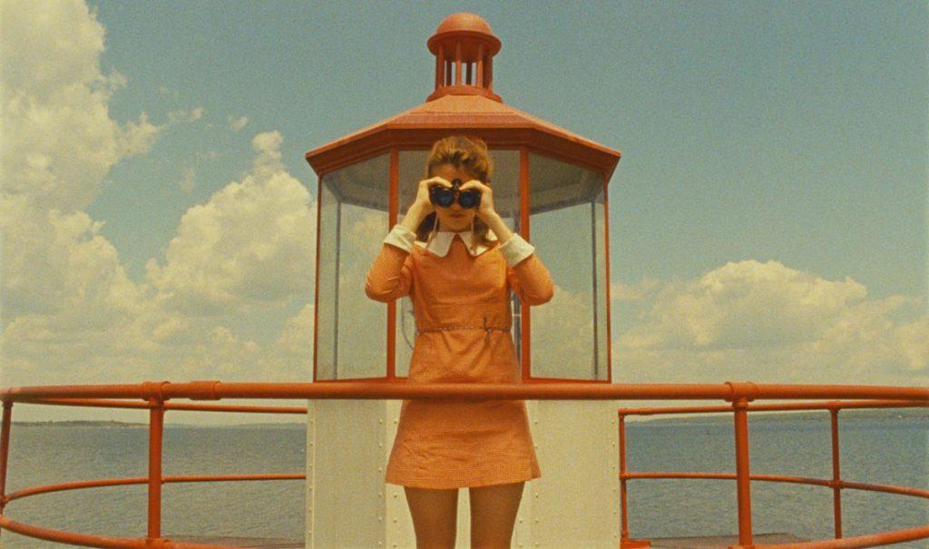 Moonrise Kingdom de Wes Anderson, o la perfecta simetría y el show de los tonos pastel.