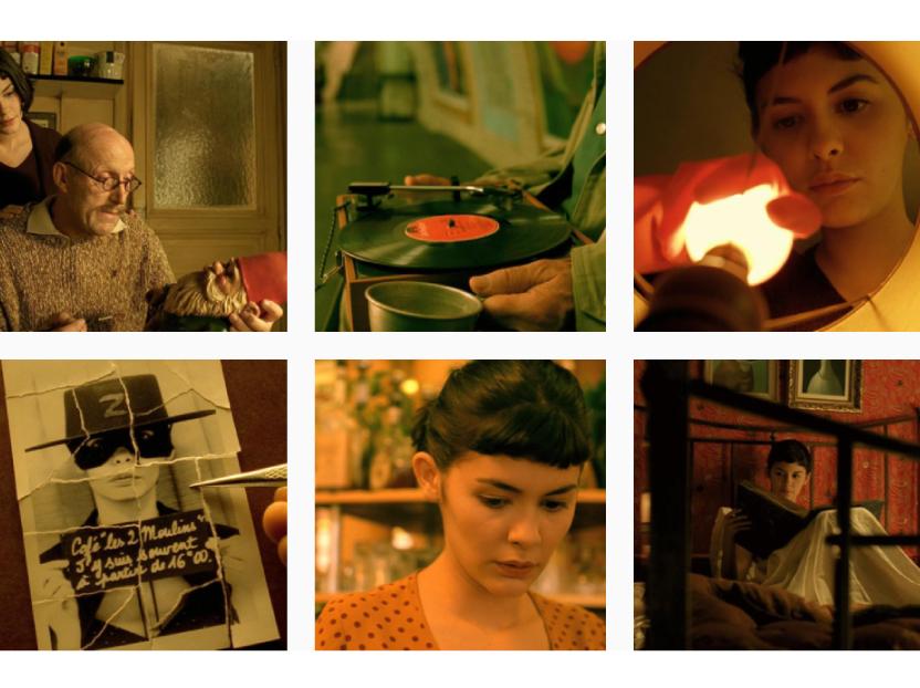 Amelie, una película identificada por su visual más allá de la historia.