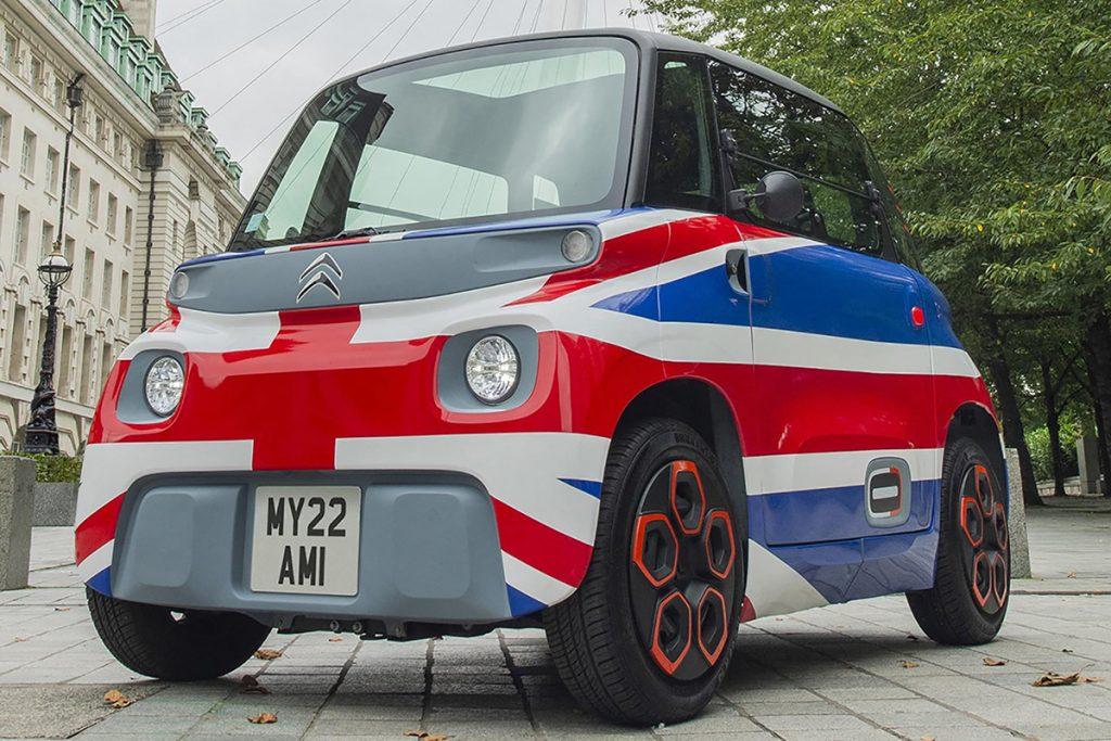 El AMI DE Citroën con diseño ultra british.