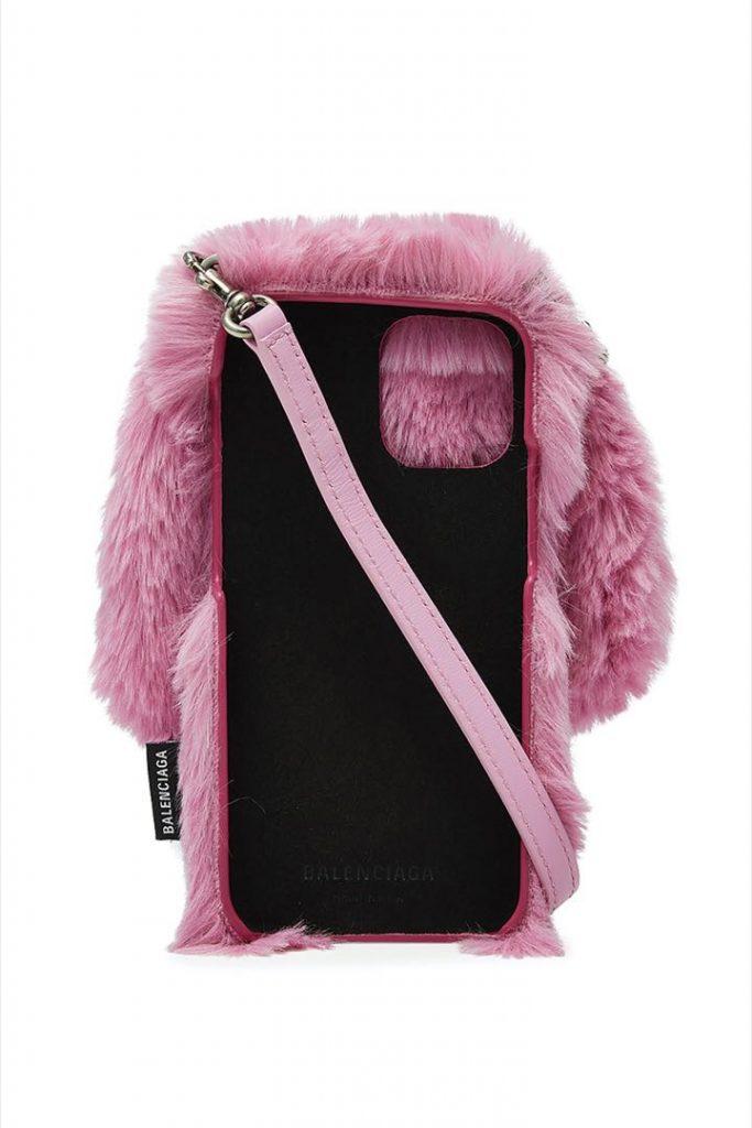 El otro lado de accesorio de Balenciaga iPhone Bunny Case.