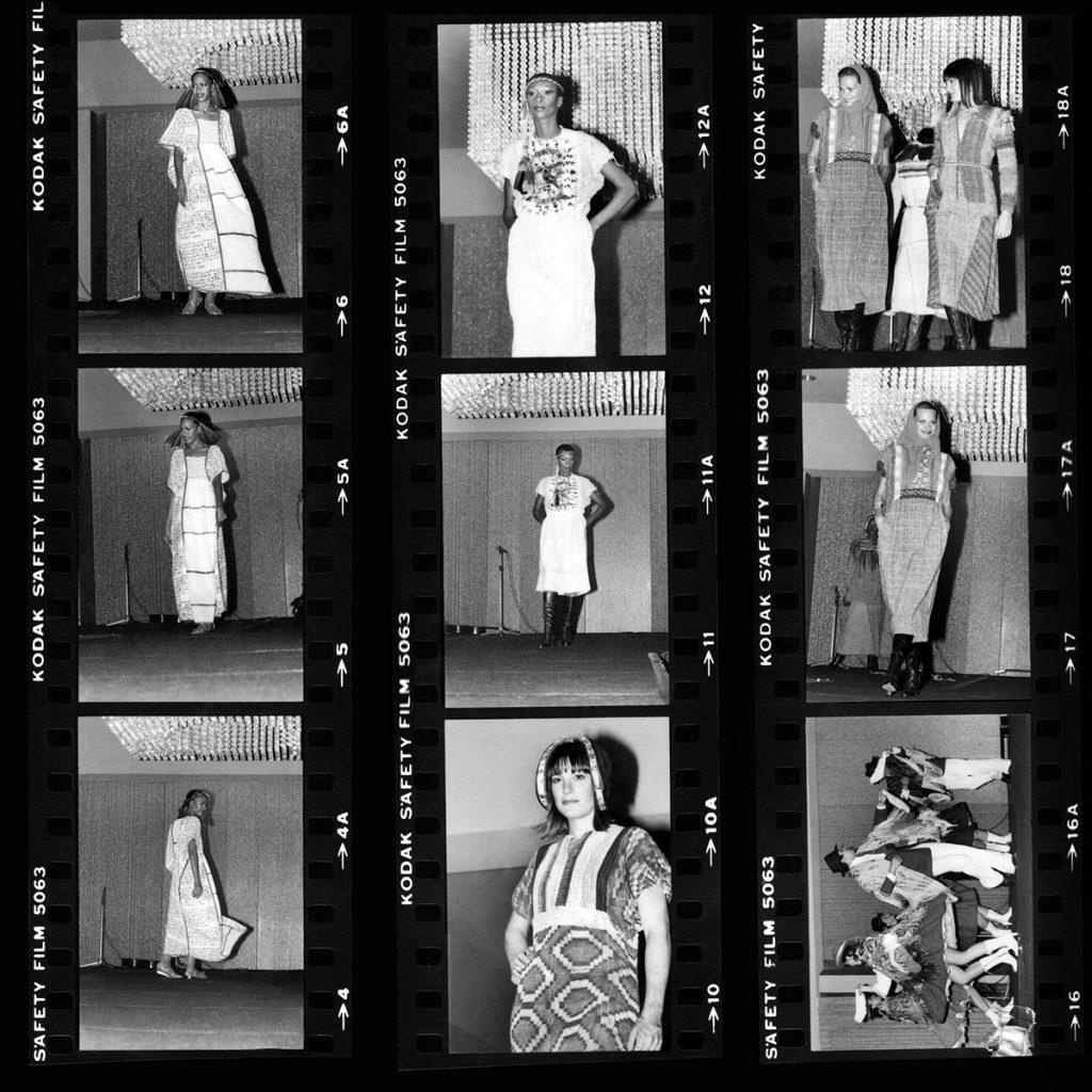 Mary Tapia fusionó vestimenta tradicional con un innovador concepto de diseño.