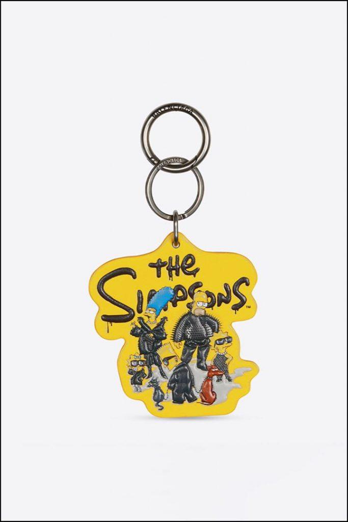 El llavero es el accesorio fetiche de la colección The Simpsons x Balenciaga.